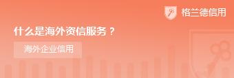 什么是海外资信服务?