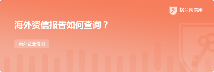 海外资信报告如何查询?